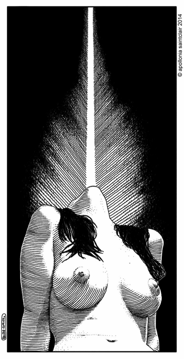 _NSFW_ Impressive Erotic Illustrations Of Apollonia Saintclair