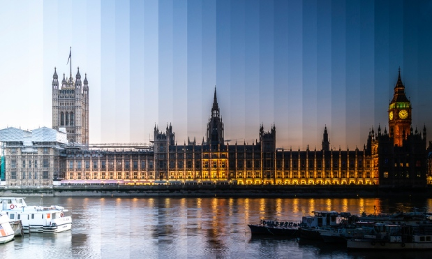 From day to night! Photographer Creates Incredible 'timeslice' Photos Buildings
