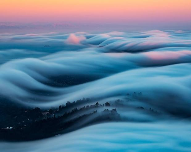 Fog Waves: Capturing Nature in Motion by Nick Steinberg