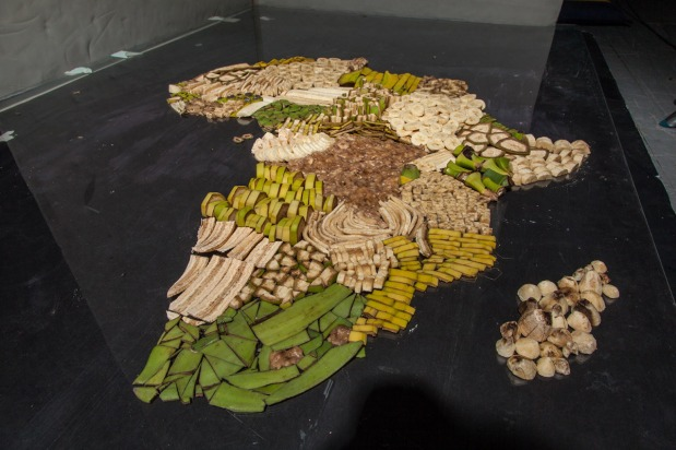 Delicious Maps of Countries Around the World Created From Native Foods