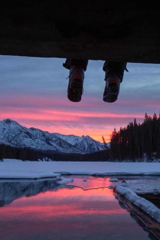 Johnson Lake. Photo by Paul Zizka Photography.