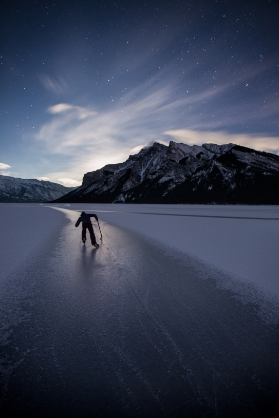 Lake Minnewanka. Photo by Paul Zizka Photography.